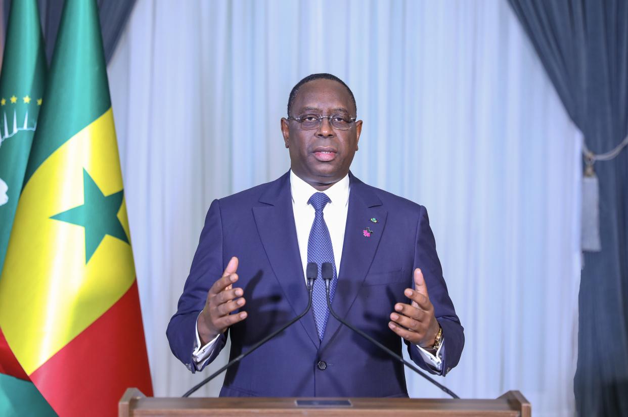 8 Mars / Situation du Sénégal : Le message à la Nation du président de la République Macky Sall.