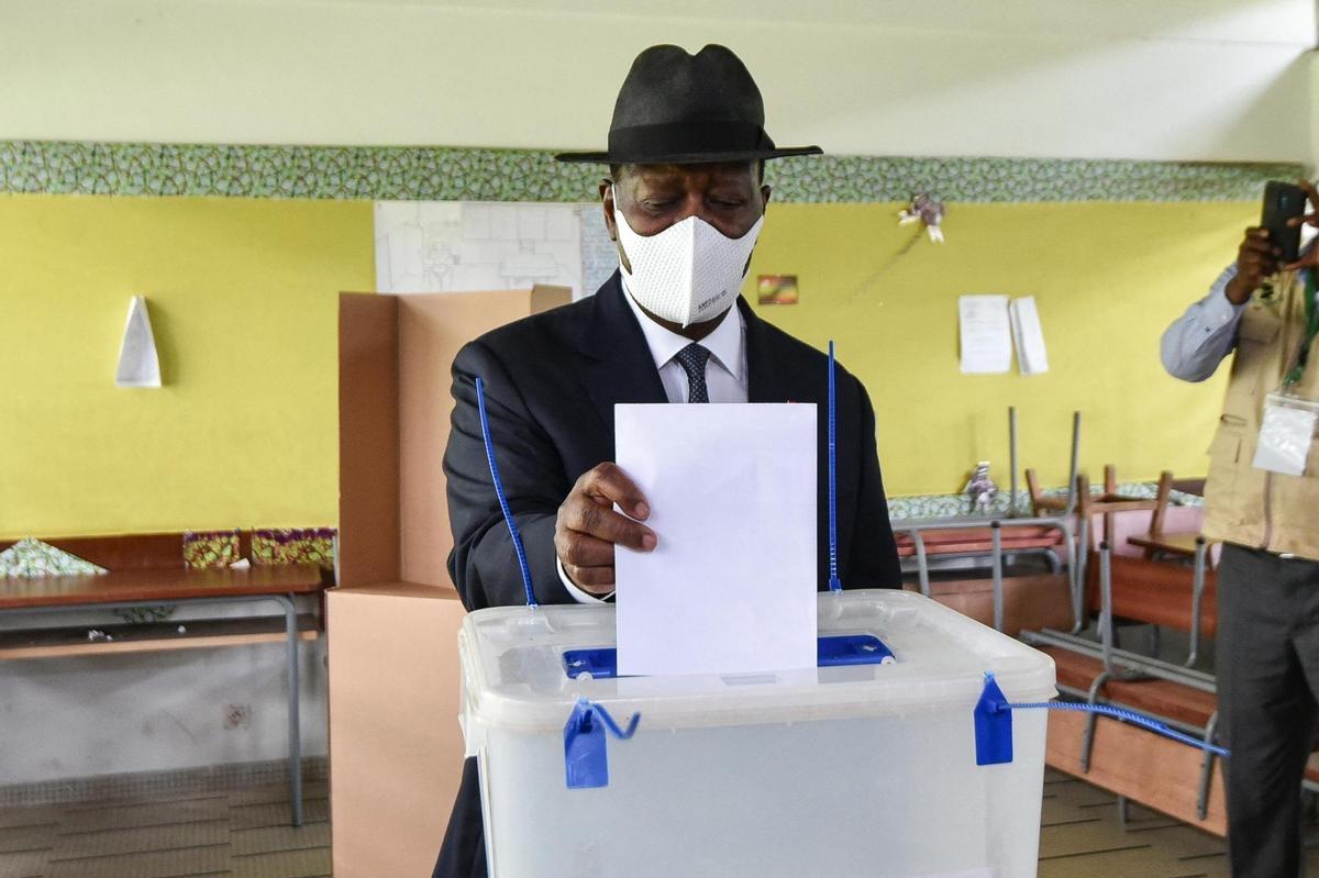 Législatives en Côte d'Ivoire: le RHDP d'Alassane Ouattara conserve sa majorité à l'Assemblée nationale