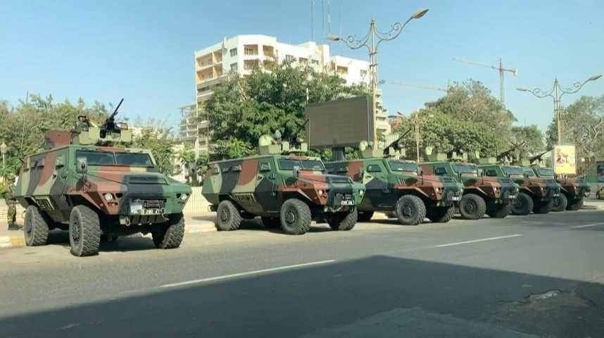 Protection siège Sonatel et bâtiments sensibles en Centre-Ville : C'est l'armée qui veille au grain.