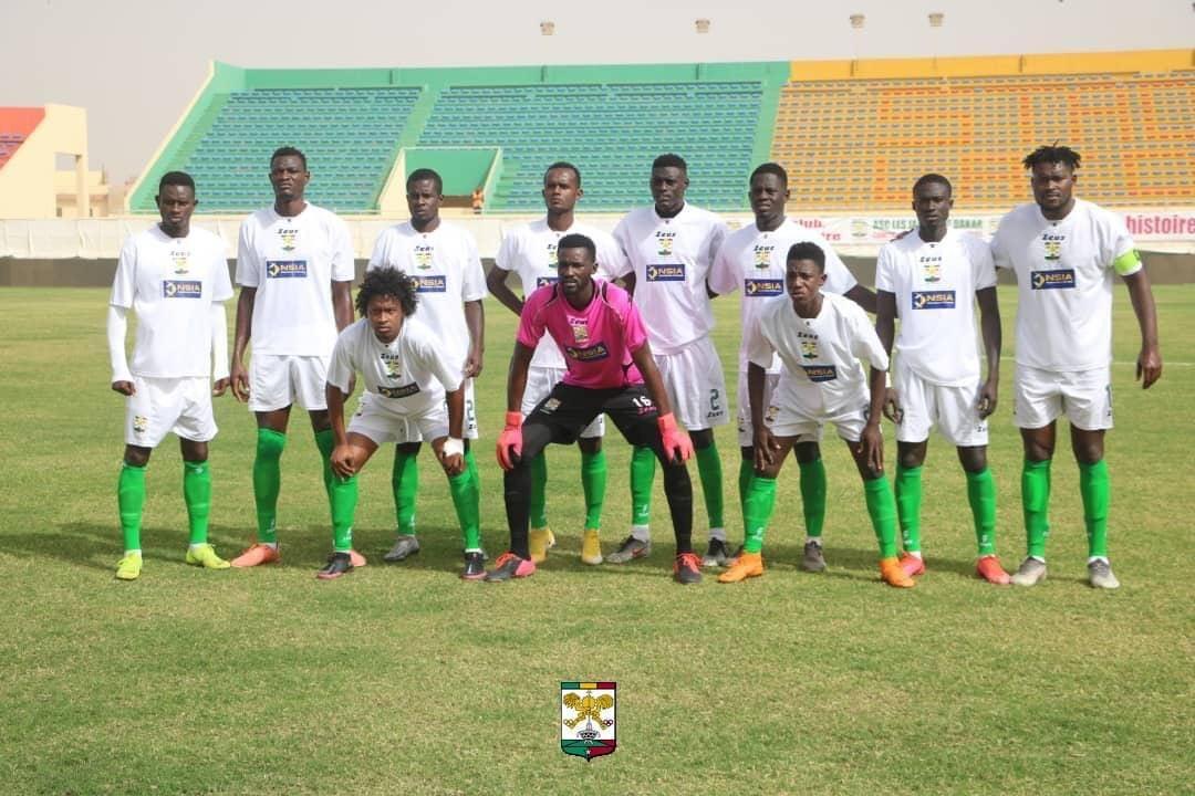 Coupe CAF : Le Jaraaf chute d'entrée contre l'Étoile Sportive du Sahel.
