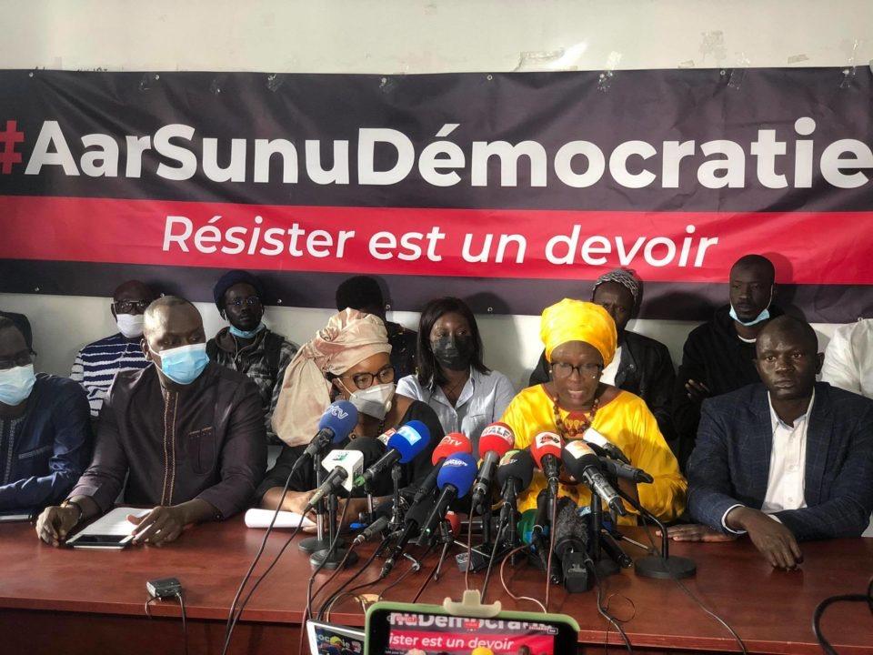 SÉNÉGAL : Le mouvement M2D suspend sa marche de demain.