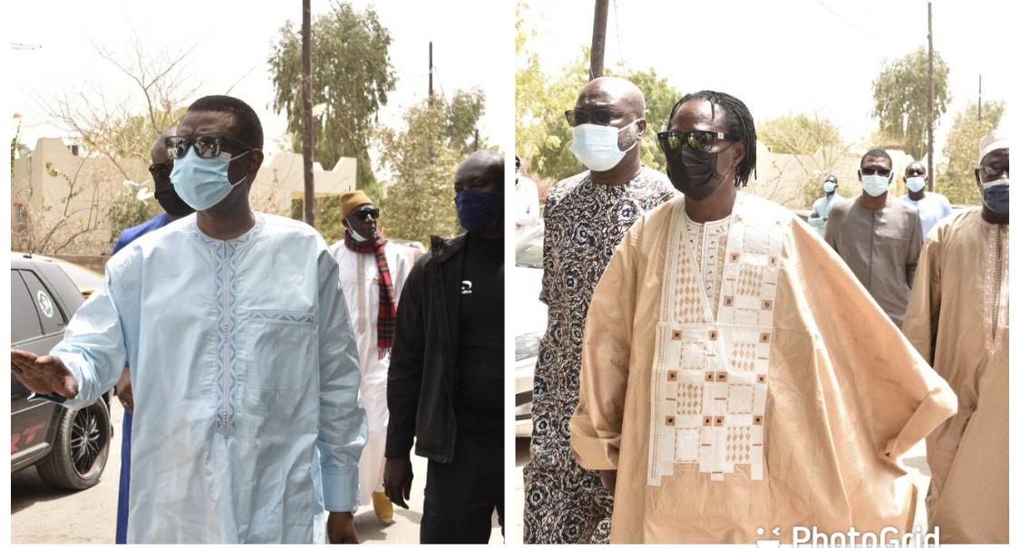 Décès du chanteur Thione Ballago Seck : arrivée de Youssou Ndour et Baba Maal à l'hopital Fann