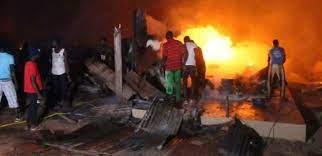 Foirail de Diamaguène Sicap/Mbao : un incendie en ravage une partie