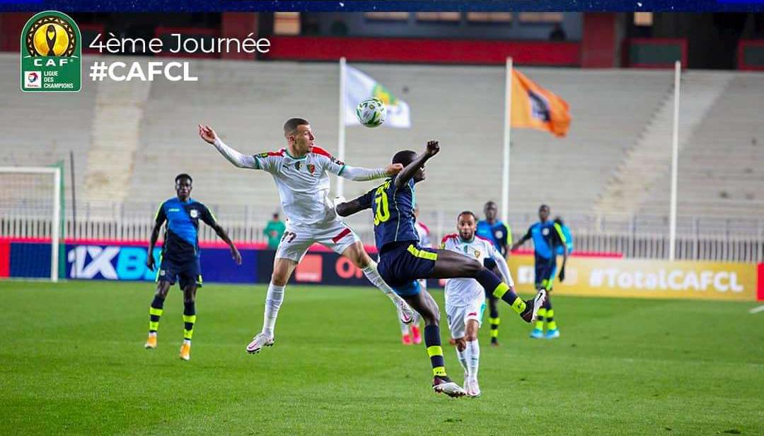 Ligue des Champions CAF : Teungueth FC éliminé de la compétition suite à une défaite contre le Mouloudia.