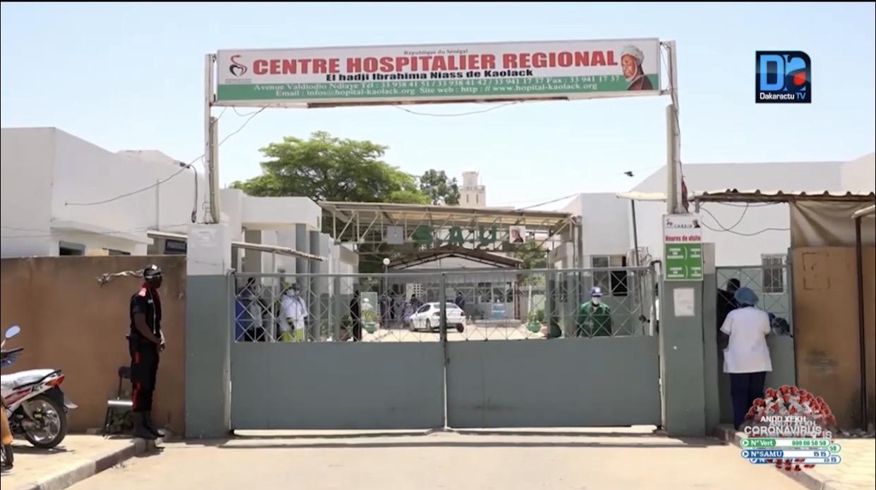 Grève totale des techniciens supérieurs de santé : L'hôpital régional de Kaolack impacté par le mouvement d'humeur.