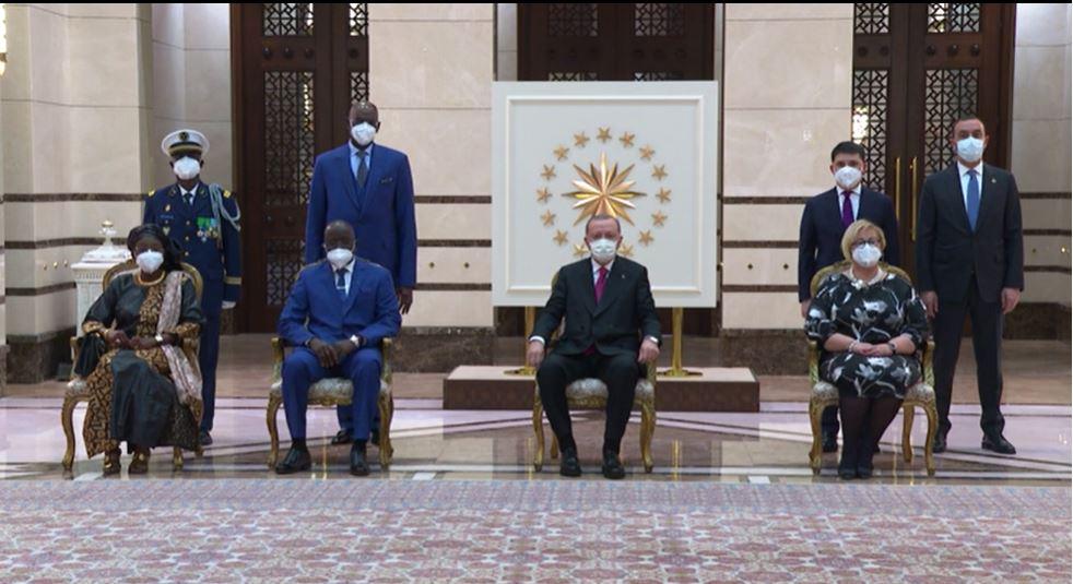 Turquie : le Général Cheikh Guèye, nouvel Ambassadeur du Sénégal a présenté ses lettres de créance