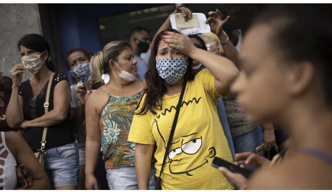 Hécatombe au Brésil : Plus de 2.800 décès liés à la Covid-19 enregistrés dans la journée d'hier.