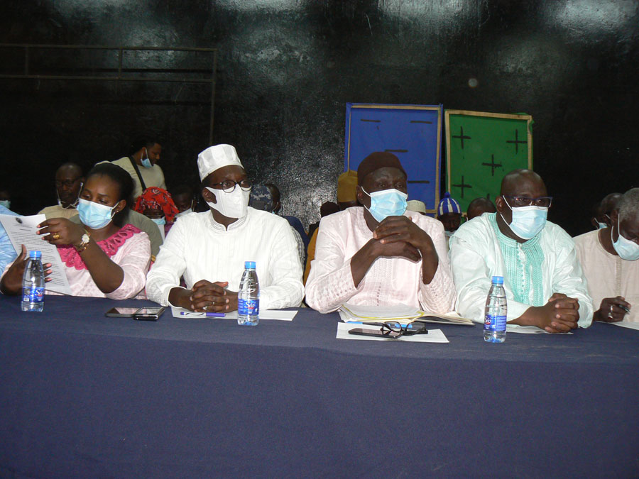 Tambacounda : Mame Balla Lô réunit les responsables de la majorité qui condamnent les violences et réaffirment leur soutien au chef de l'Etat.