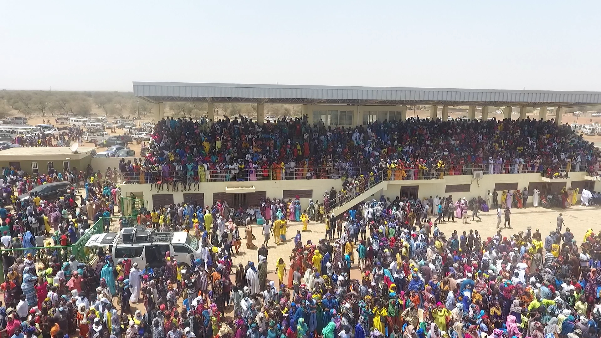 Matam : Une foule compacte à l'appel du député-maire des Agnams pour soutenir les politiques publiques du président Macky Sall.
