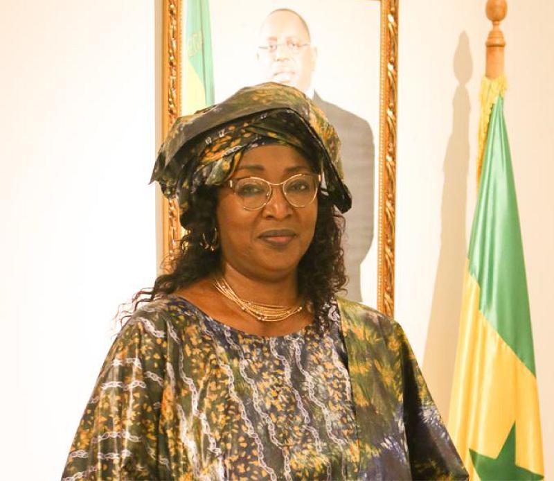 Conseil des ministres : Ndèye Ticket Ndiaye Diop nommée ambassadeur du Sénégal au Brésil.