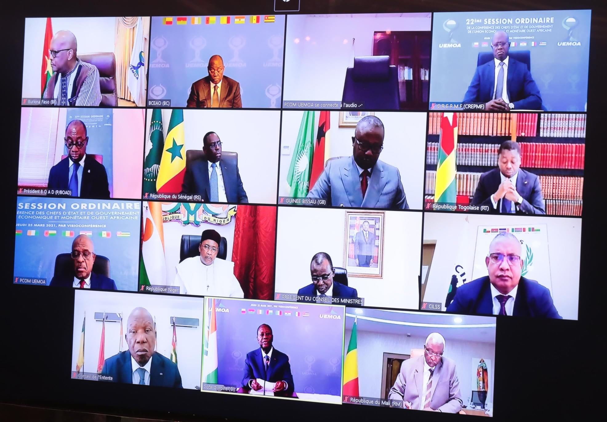Lutte contre le terrorisme : la conférence des chefs d'État de l'Uemoa octroie 2 milliards au G5 Sahel.