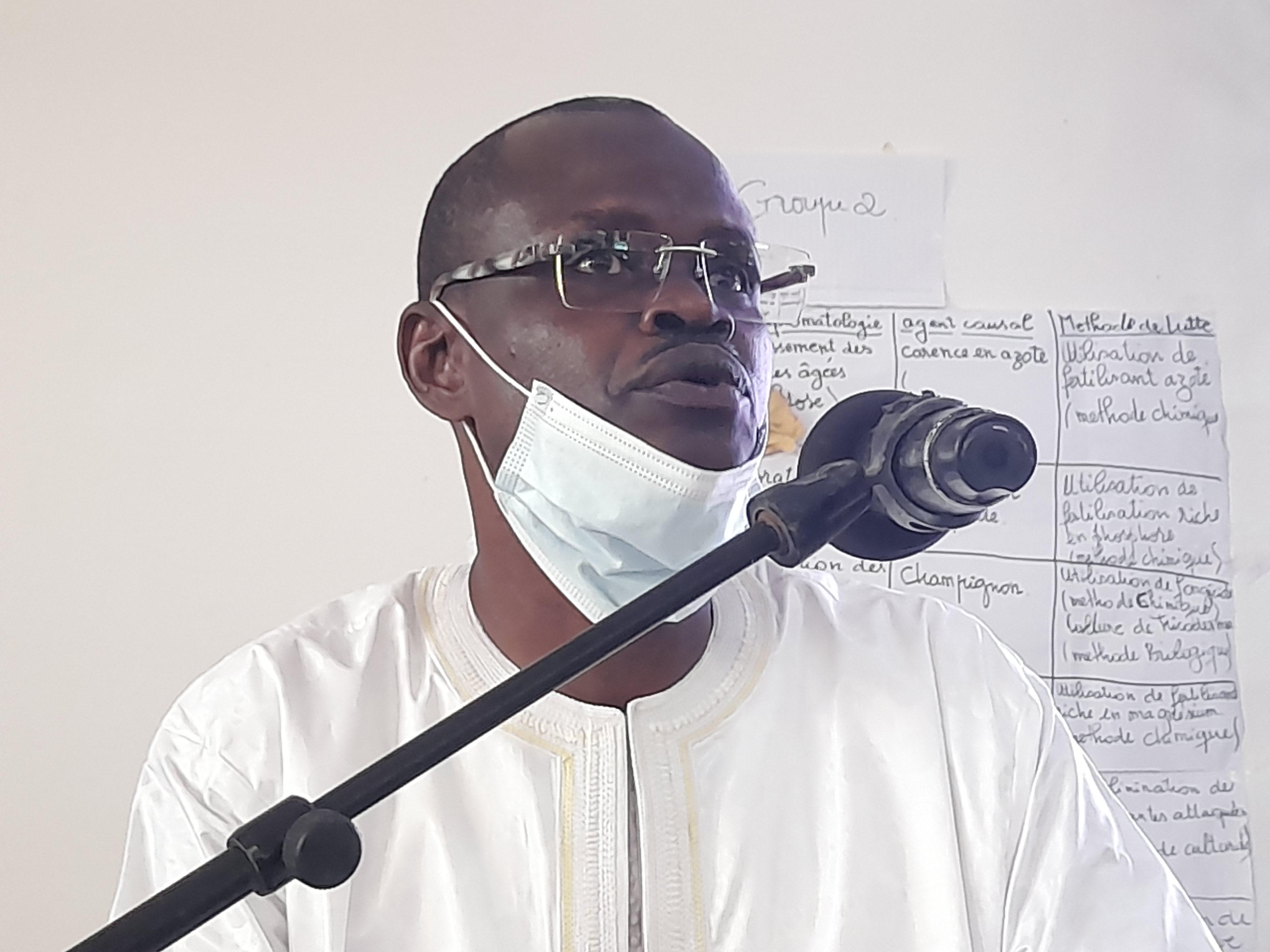 Forum sur l'insertion et l'emploi des jeunes à Kaolack / Docteur Macoumba Diouf : «Nous devons ériger le secteur agricole en général et le sous secteur de l'horticulture en particulier, en première priorité...»