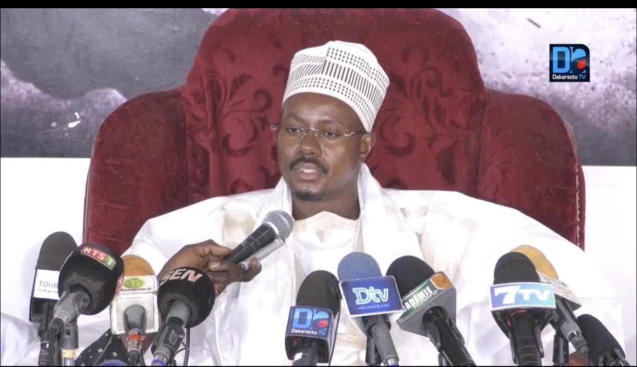 50 MILLIONS DU KHALIFE : Cheikh Bass précise que l'argent a été remis au Dahira Hizbut-Tarquiyah qui le remettra aux ayant-droits.