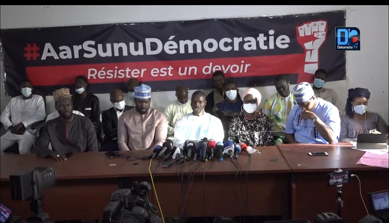 Libération des détenus à Diourbel : Le M2D assure que leur sortie ne visait pas à jeter le discrédit sur la justice (Communiqué)