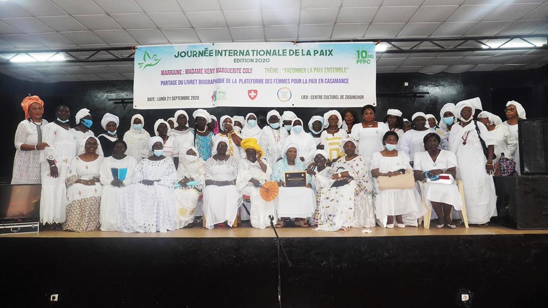 Cohésion sociale et stabilité nationale : La plateforme des femmes pour la paix en casamance consternée, dénonce le discours ethniciste et appelle au sens de la responsabilité.