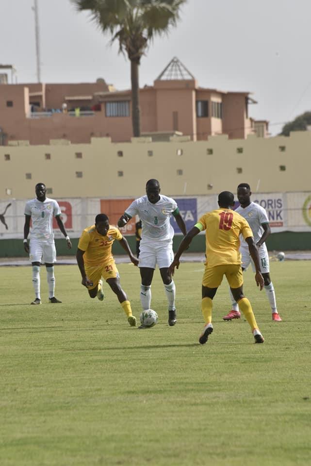 Éliminatoires CAN 2022 : Les Lions du Sénégal surpris 1-0 par l'Eswatini, à la mi-temps...