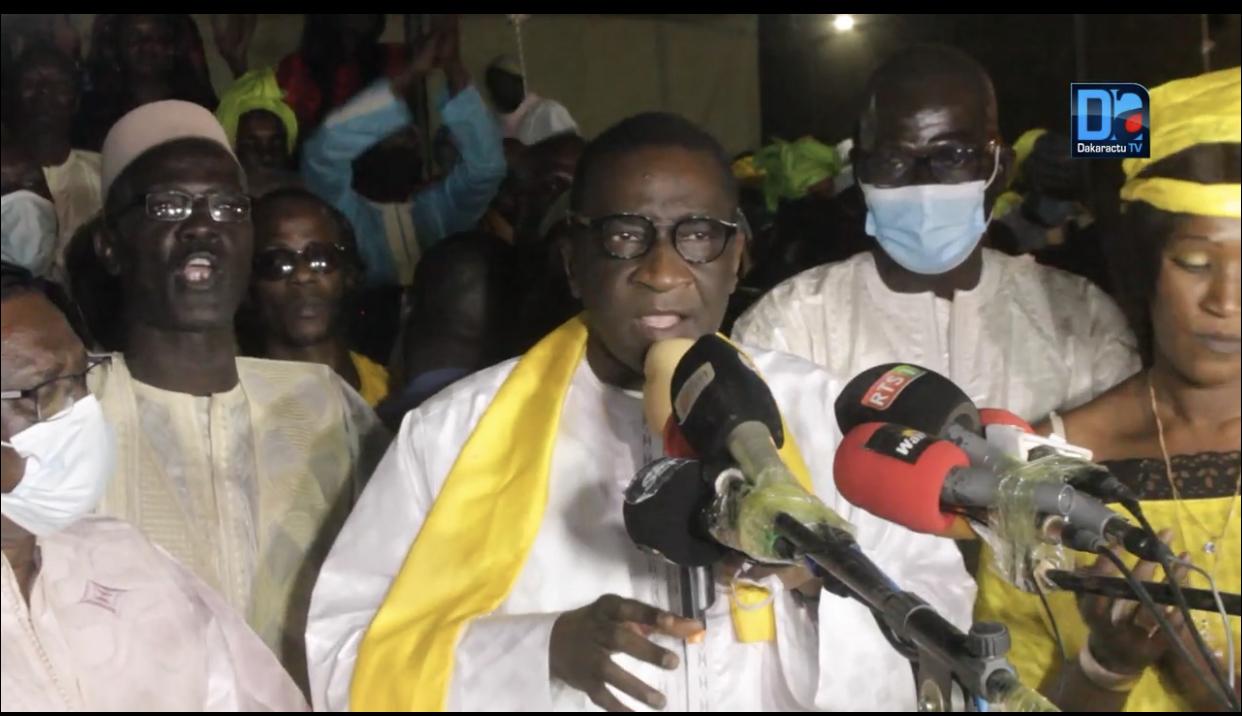 Mamadou Racine Sy : « Nous nous engageons à accompagner Macky Sall dans sa politique de développement économique »