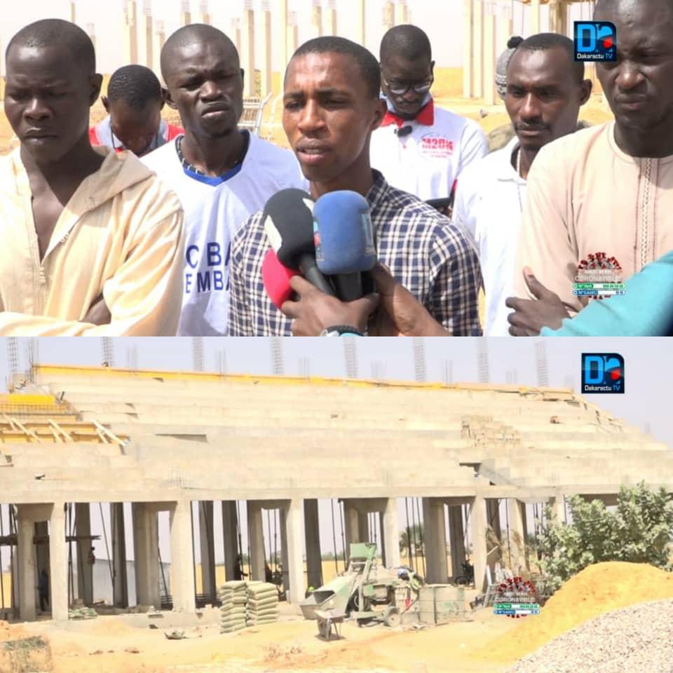 SPORTS À MBACKÉ / Les jeunes déplorent les lenteurs accusées dans la construction de leur stade.