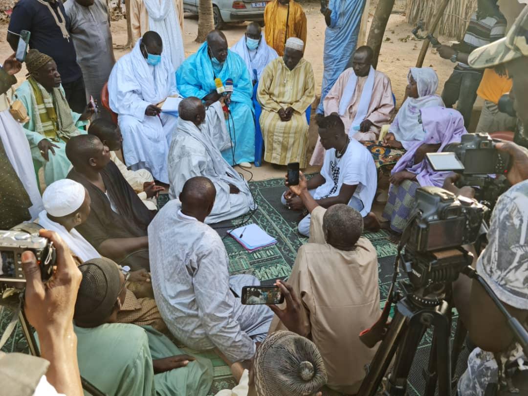 Appui du Khalife aux victimes des émeutes / La commission est dans la région naturelle de la Casamance.