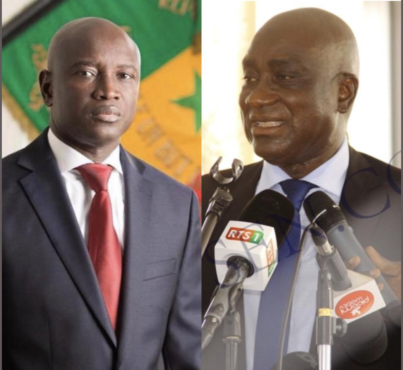 Décès de l'ancien secrétaire Général du Ministère de l'intérieur : L'hommage de Aly Ngouille Ndiaye à Ibrahima Sakho.