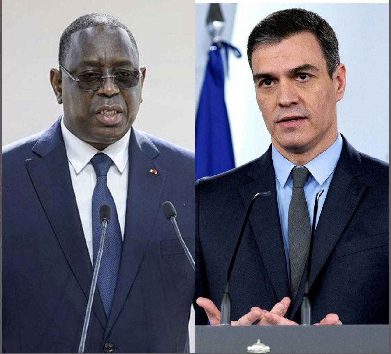 Reprise des vols de rapatriement : le Premier ministre espagnol saura-t-il convaincre Macky Sall ?