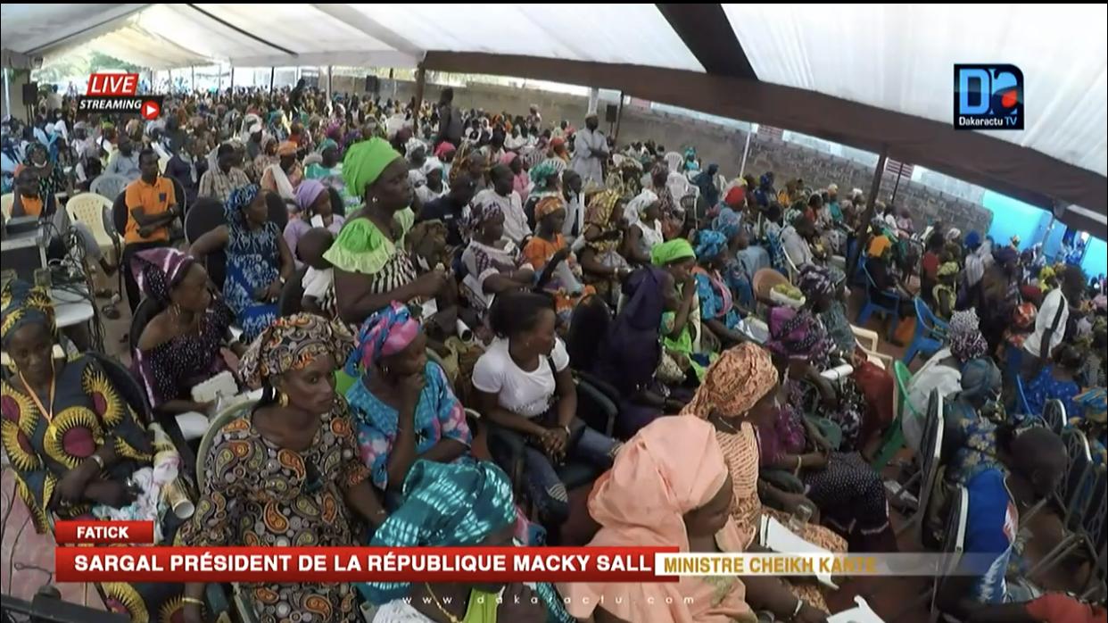Fatick : Les militants accompagnent l'appel à la remobilisation du Dr Cheikh Kanté.
