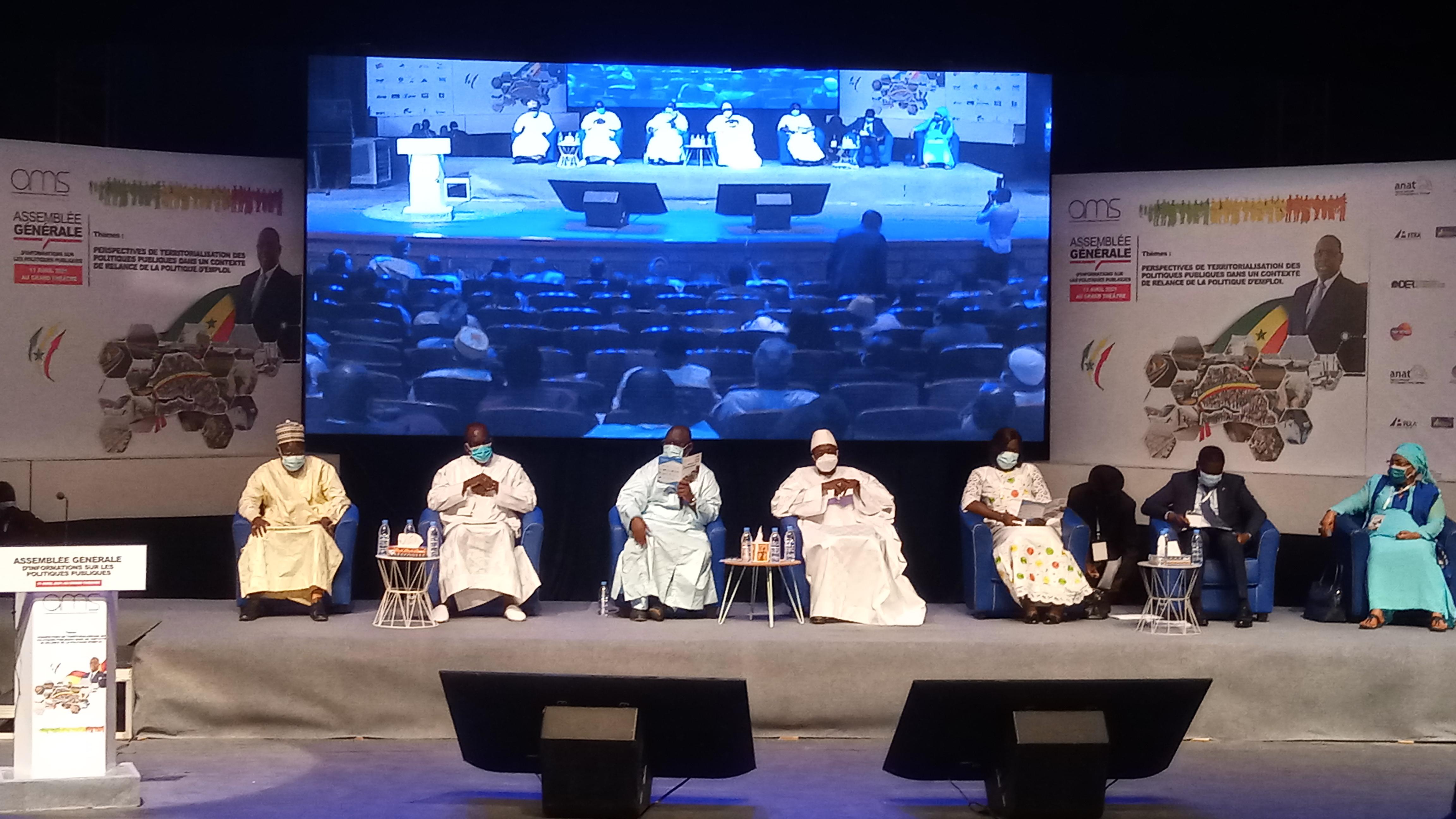 Assemblée générale extraordinaire de l'AMS : Les maires du Sénégal se retrouvent pour renforcer les politiques publiques et l'emploi des jeunes.