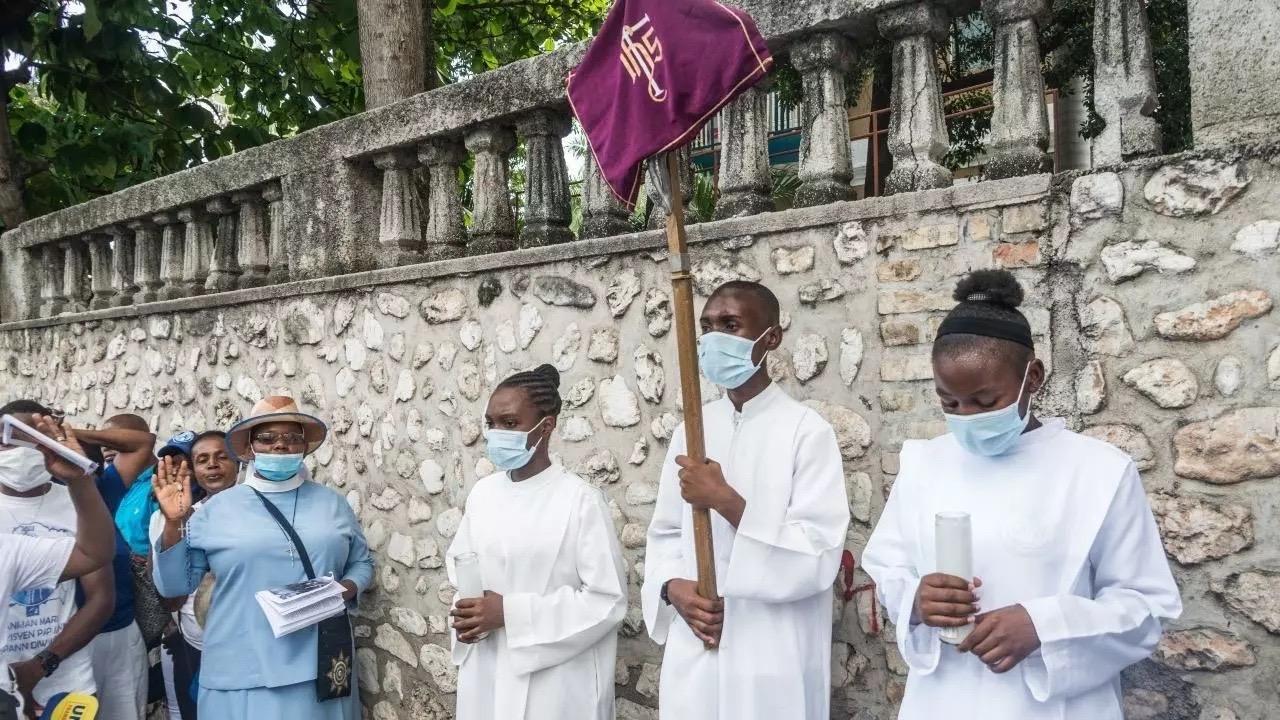 Amérique : Enlèvement de sept religieux catholiques dont deux français à Haïti.