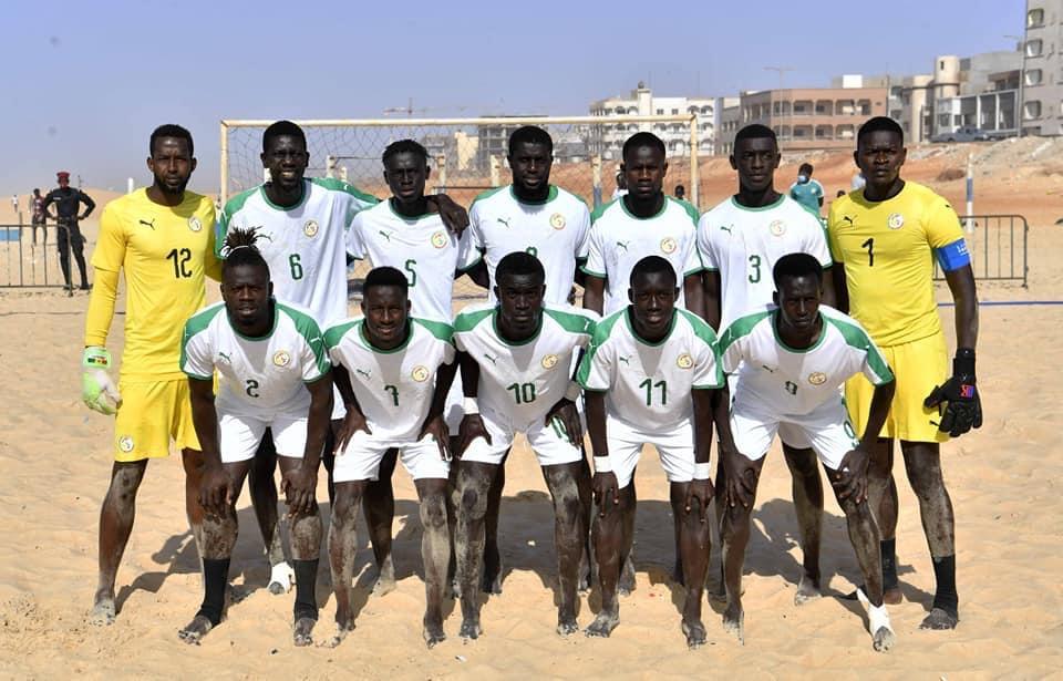 Beach soccer / Préparation CAN 2021 : La triple victoire des Lions devant le Maroc, rassure le coach Ngalla Sylla.