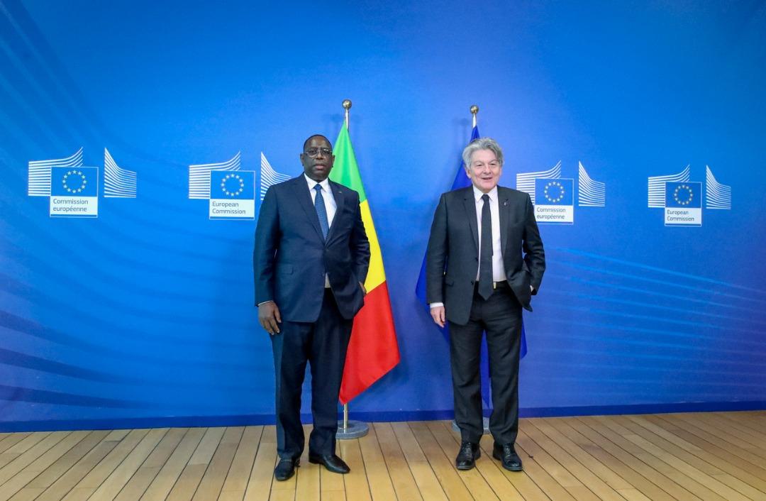 Relance économique et gestion de la Covid-19 : L'UE salue les stratégies du Sénégal.