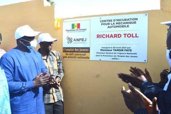 Employabilité des Jeunes : L'ANPEJ inaugure deux centres d'incubation à Richard Toll