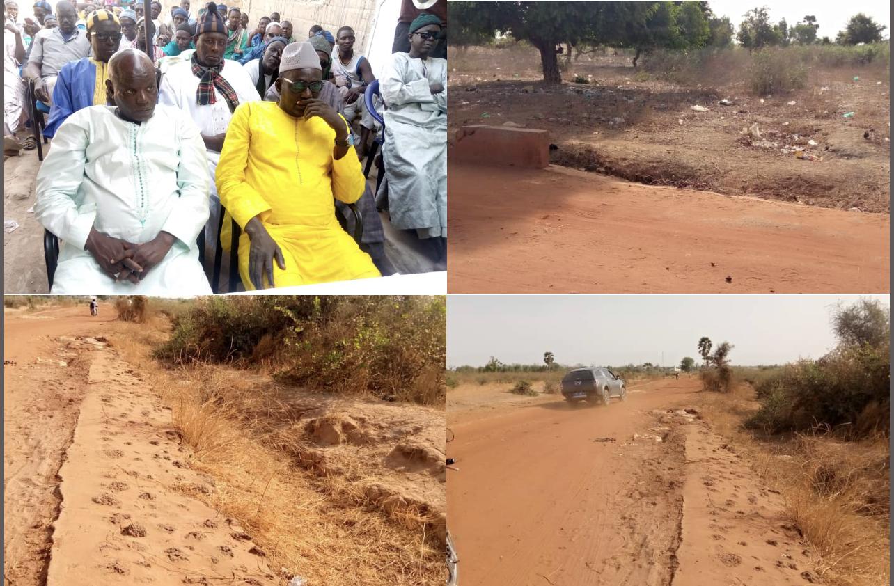 Malem Hodar : La population réclame la réalisation de la route Kaffrine-Ndioum Guinth et le relèvement du plateau technique du poste de santé de cette commune.