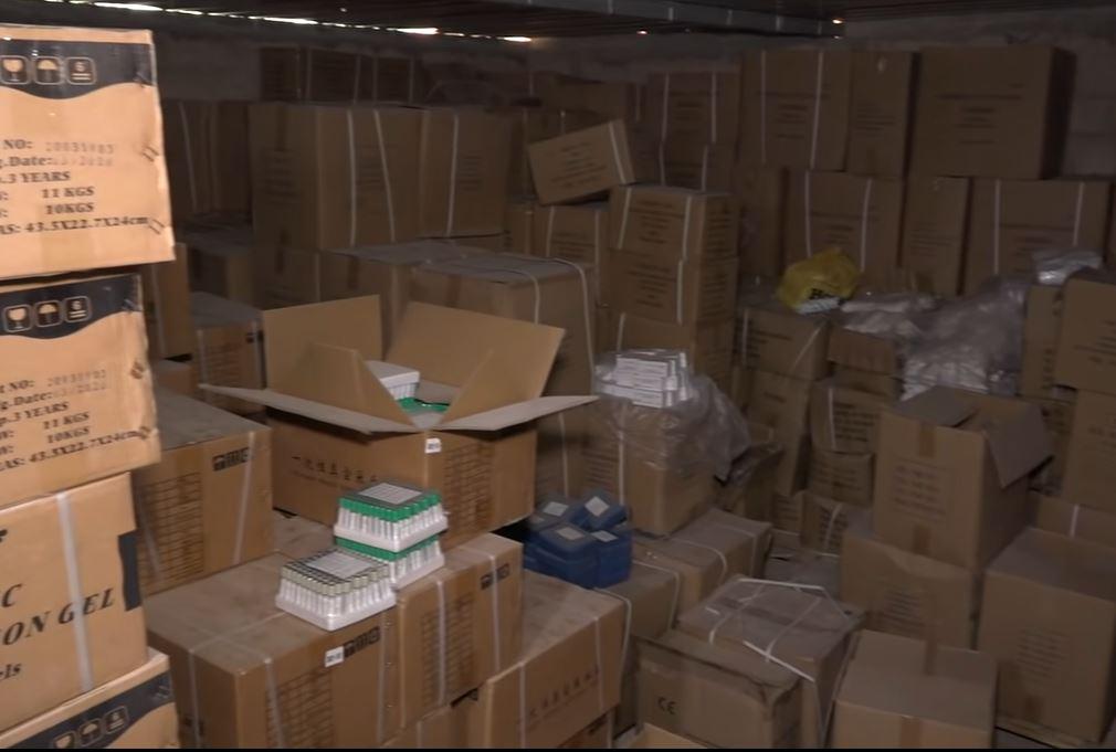 Trafic à la Patte d'Oie Builders : de faux médicaments d'une valeur de plusieurs milliards saisis