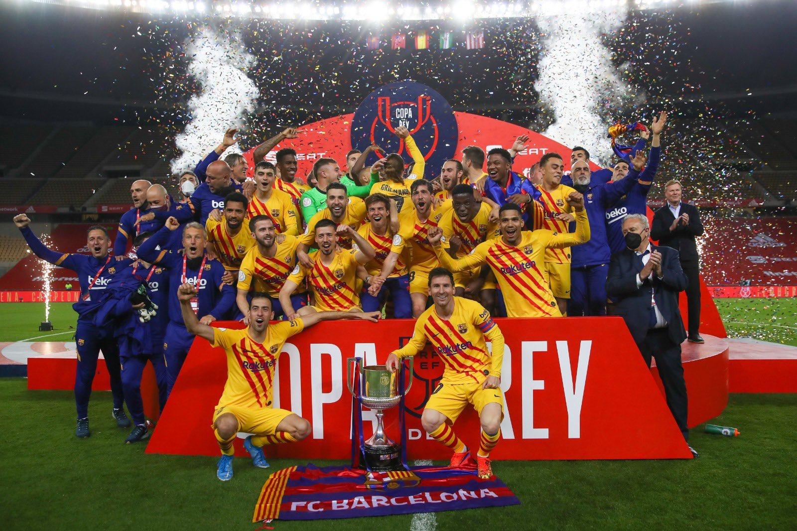 Espagne / Copa Del Rey : La Barça corrige Bilbao en finale !