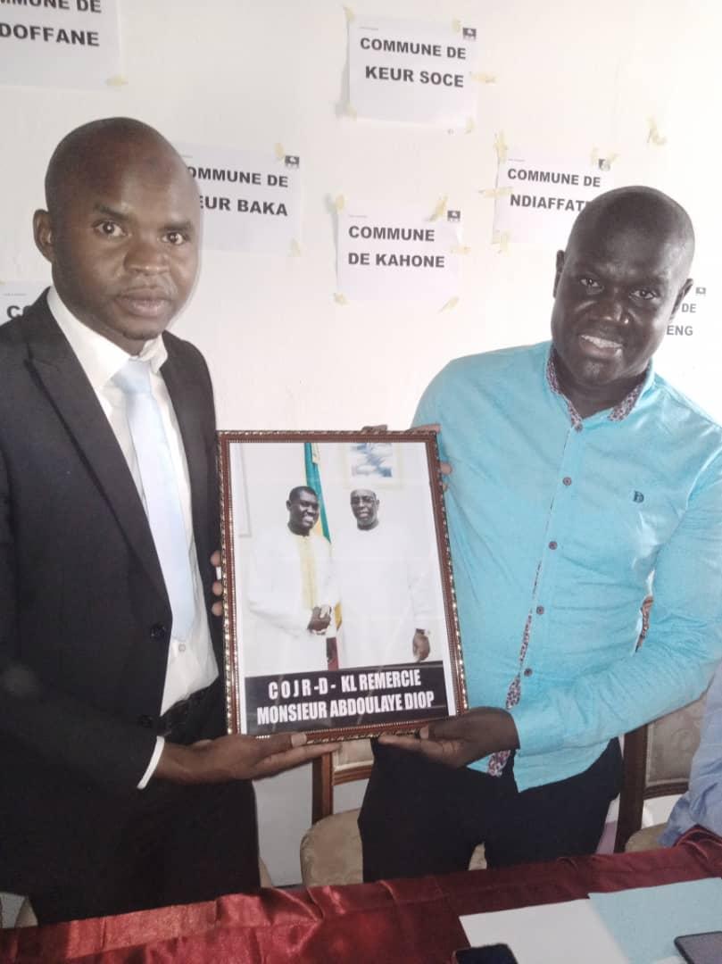 Nouvellement élu à la tête de la Cojer :  Bocar Diallo rend visite aux guides religieux de la commune de Kaolack.