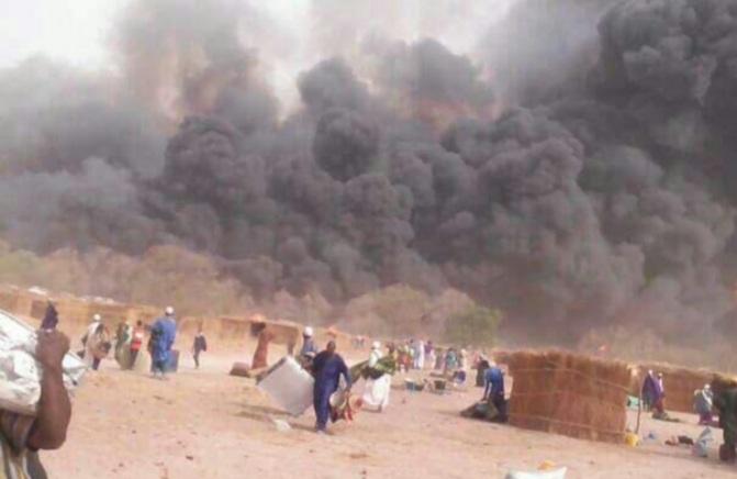KÉDOUGOU / BANTAKO : Des centaines de concessions et des dizaines de millions de francs emportés par le feu.