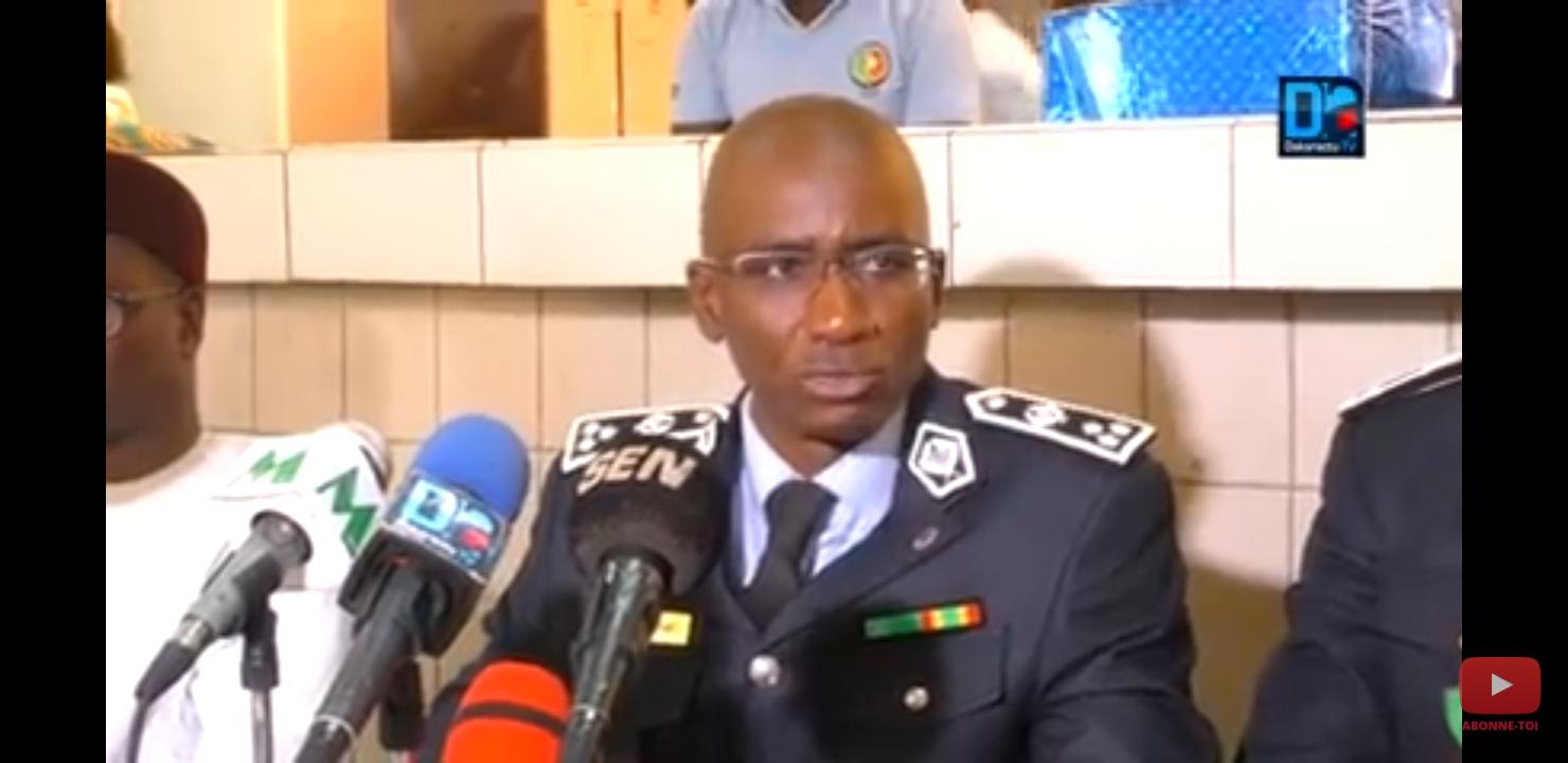 Mouvements à la Police : le commissaire Modou Diagne nommé DGA de la Police, le Commissaire Diop de l'Ocrtis nouveau DSP