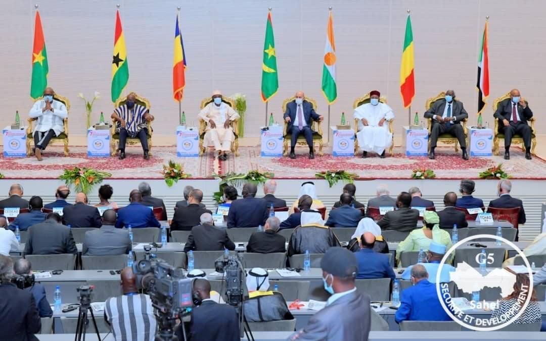 Décès d'Idriss Déby Itno / Réunion de haut niveau pour convaincre Déby-fils de laisser la présidence du G5 à Roch Marc Christian Kaboré.