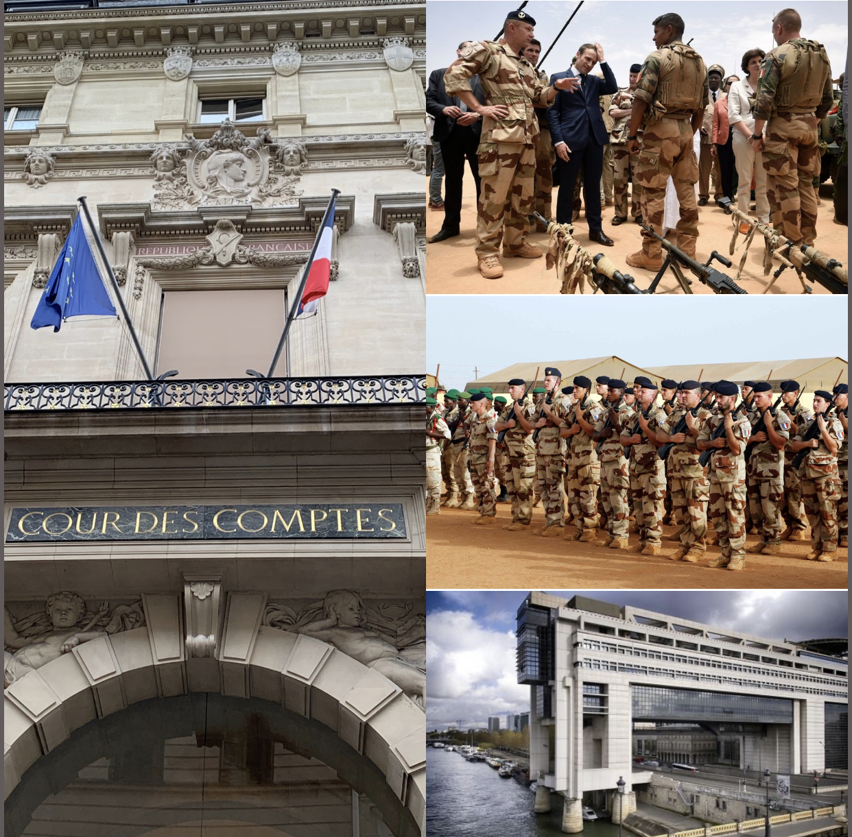 Efficacité de Barkhane, écart entre dépenses militaires et montant versé à l'aide publique au développement dans les pays du G5 Sahel : La Cour des comptes française sans complaisance.