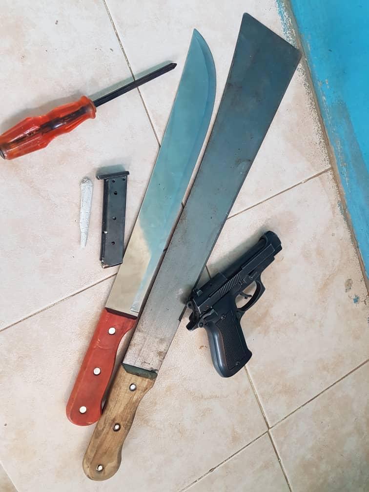 Mbour : Un redoutable  gang armé arrêté au quartier Saly Niakh Niakal par la Police centrale...