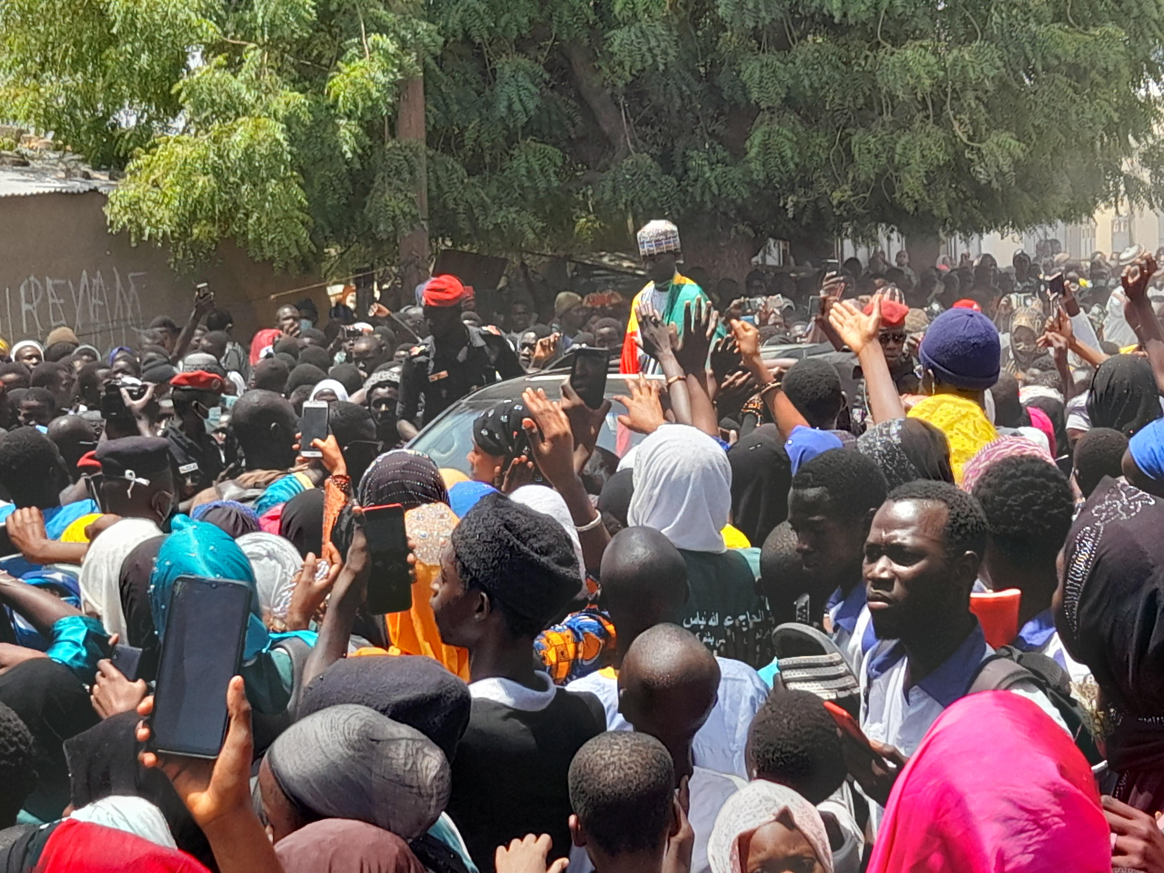 KAOLACK : Mohamed Mahi Touré accueilli en héros à Médina Baye (Images)