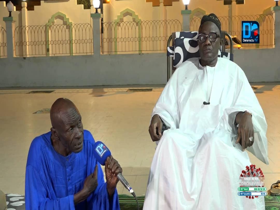 """IBRA ITALIEN À TOUBA / Quand l'ancienne star de théâtre subit une formation spirituelle ou """" tarbiyah"""" chez Serigne Abdou Samad Souhaïbou."""