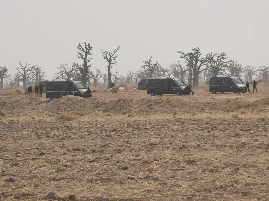 Ndingler : les forces de l'ordre investissent les lieux, les jeunes de Djilakh soutiennent le projet de la Sédima