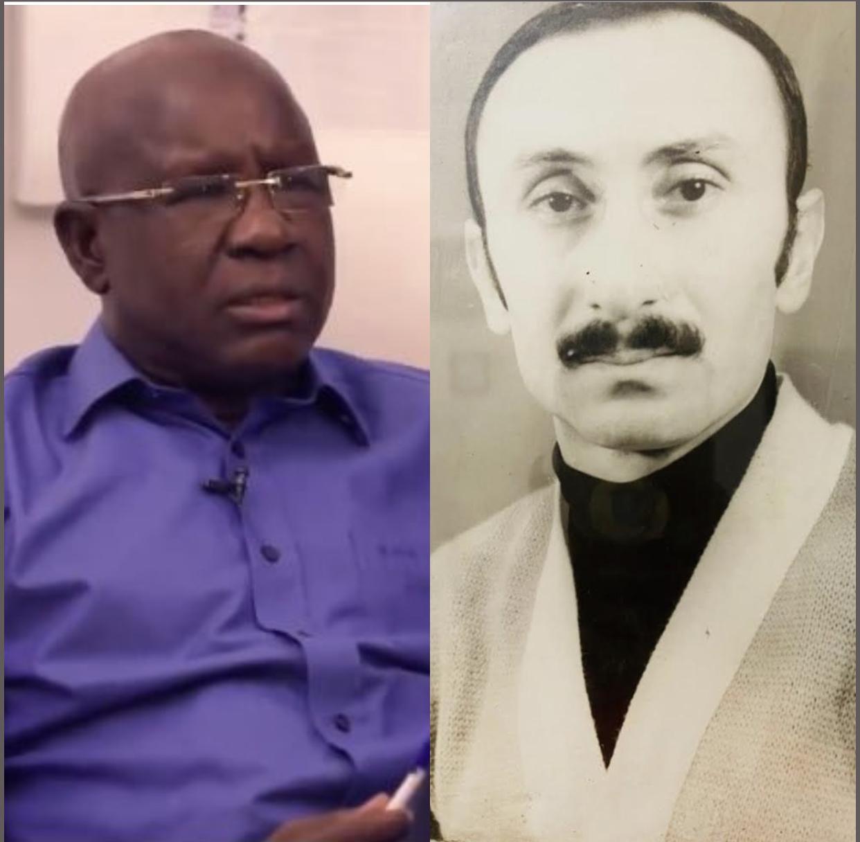 Les syriens du Sénégal en deuil : Décès de Abdou Aziz Jean Nicolas, beau-père de  Mbaye Guèye EMG.