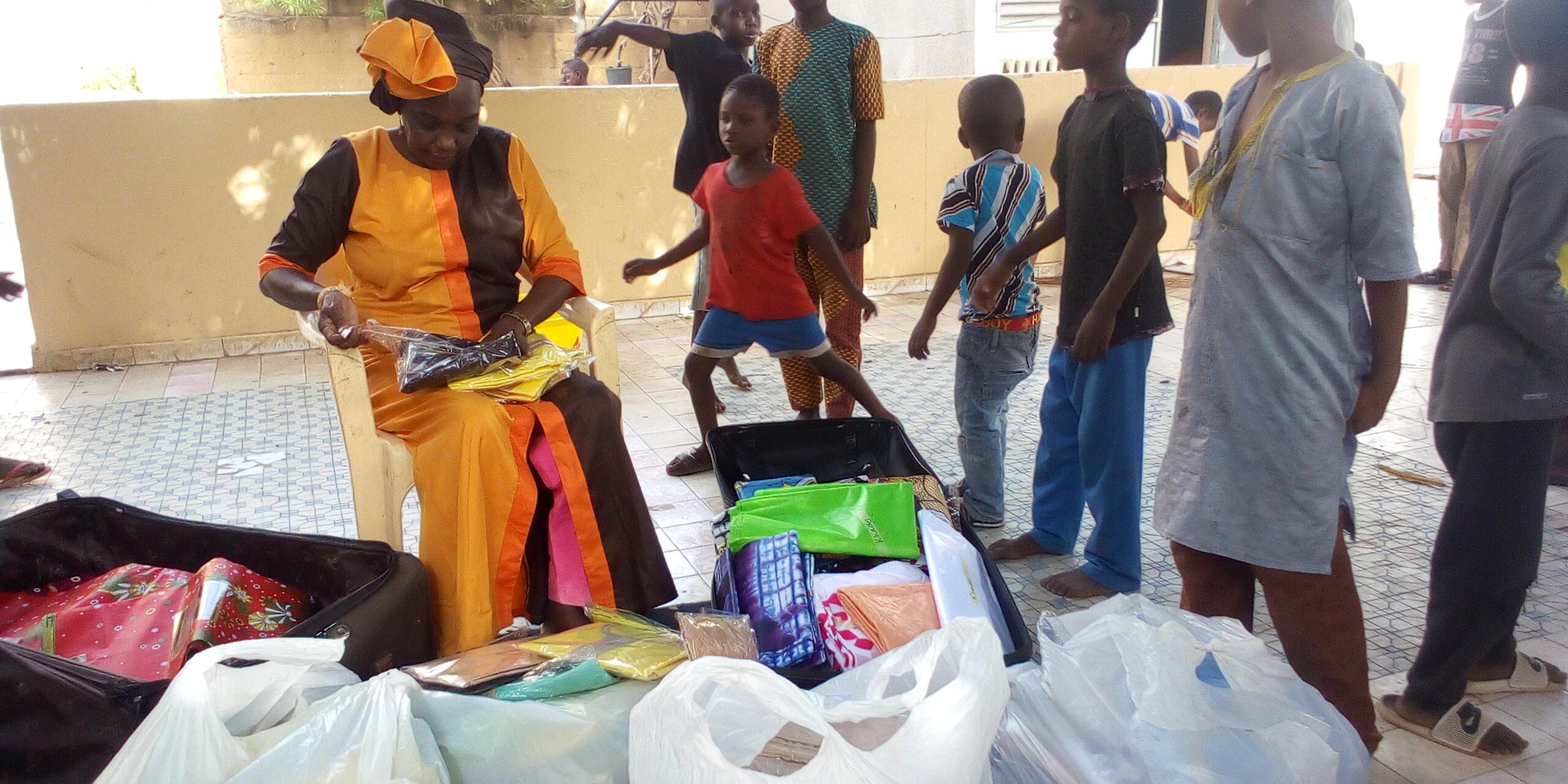Ramadan Moubarak à Kolda : plus de mille enfants issus des couches vulnérables habillés pour la Korité...