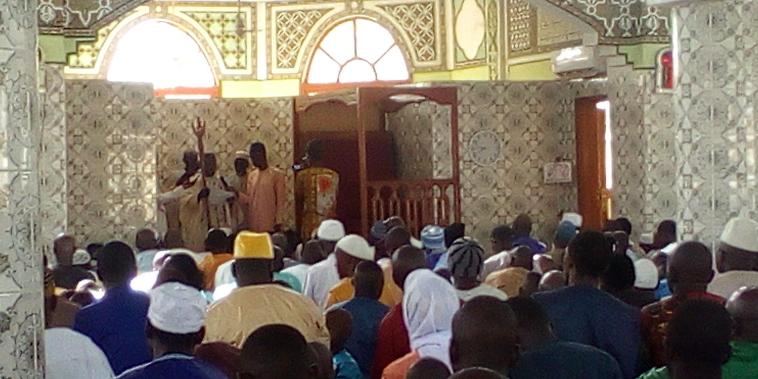 Célébration de la Korité à Kolda : Solidarité, tolérance, foi, repentir au menu du sermon de l'Imam ratib de la grande mosquée.