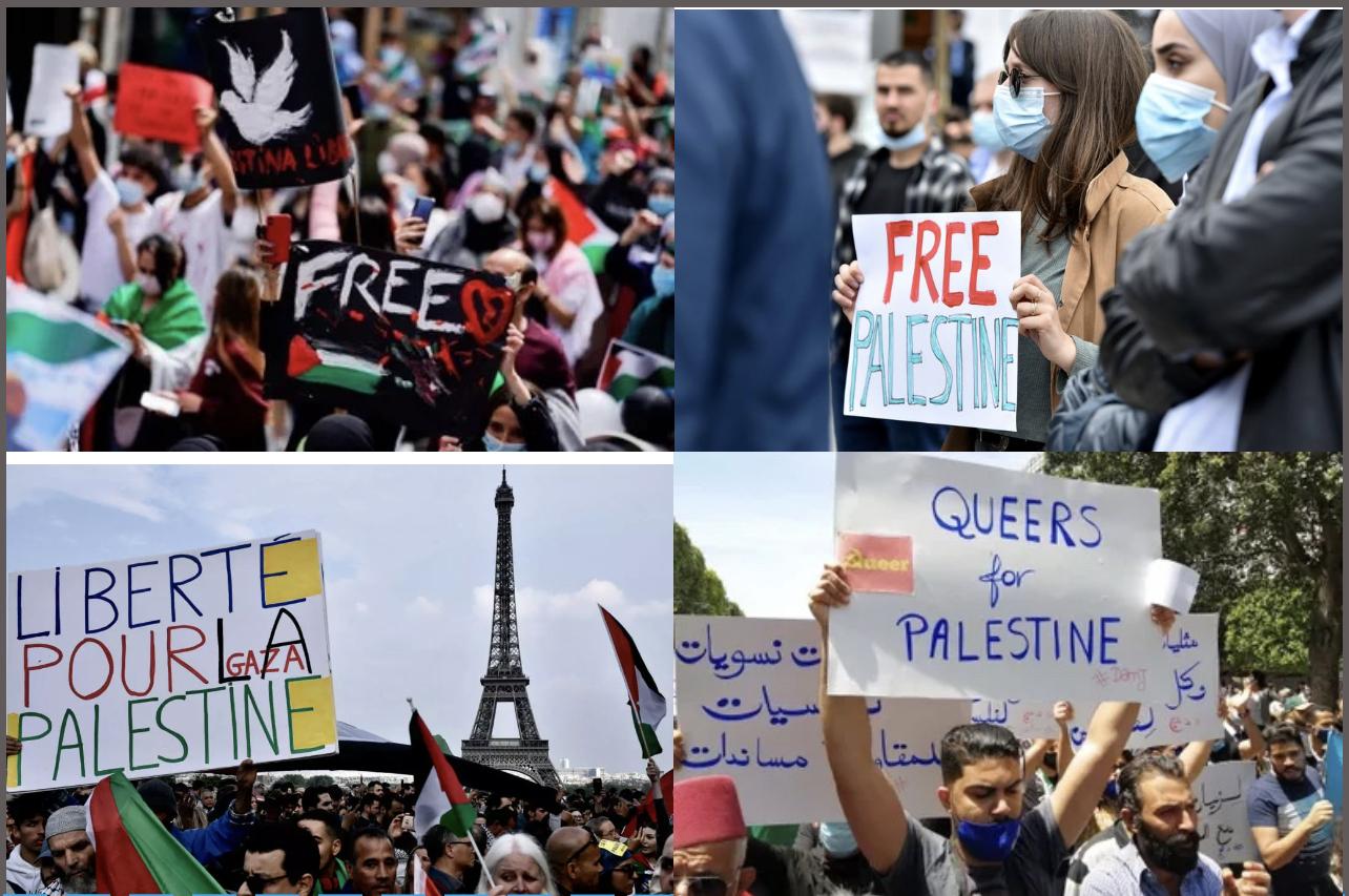 Affrontements entre Israéliens et Palestiniens : Des manifestations tous azimuts à travers le monde ce samedi.
