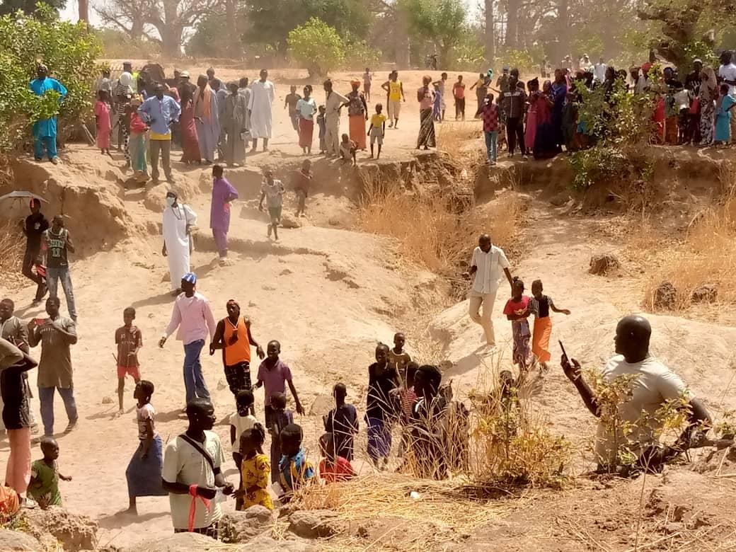 Kaffrine/ Kathiote : La population réclame la réhabilitation de l'axe Katakel-Taïba et Taïba-Santhie Mandakh (images).