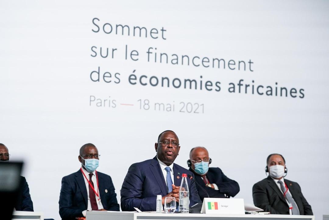 Sommet de Paris sur le financement des économies africaines : Macky Sall plaide pour un appui plus conséquent aux efforts de relance des pays africains