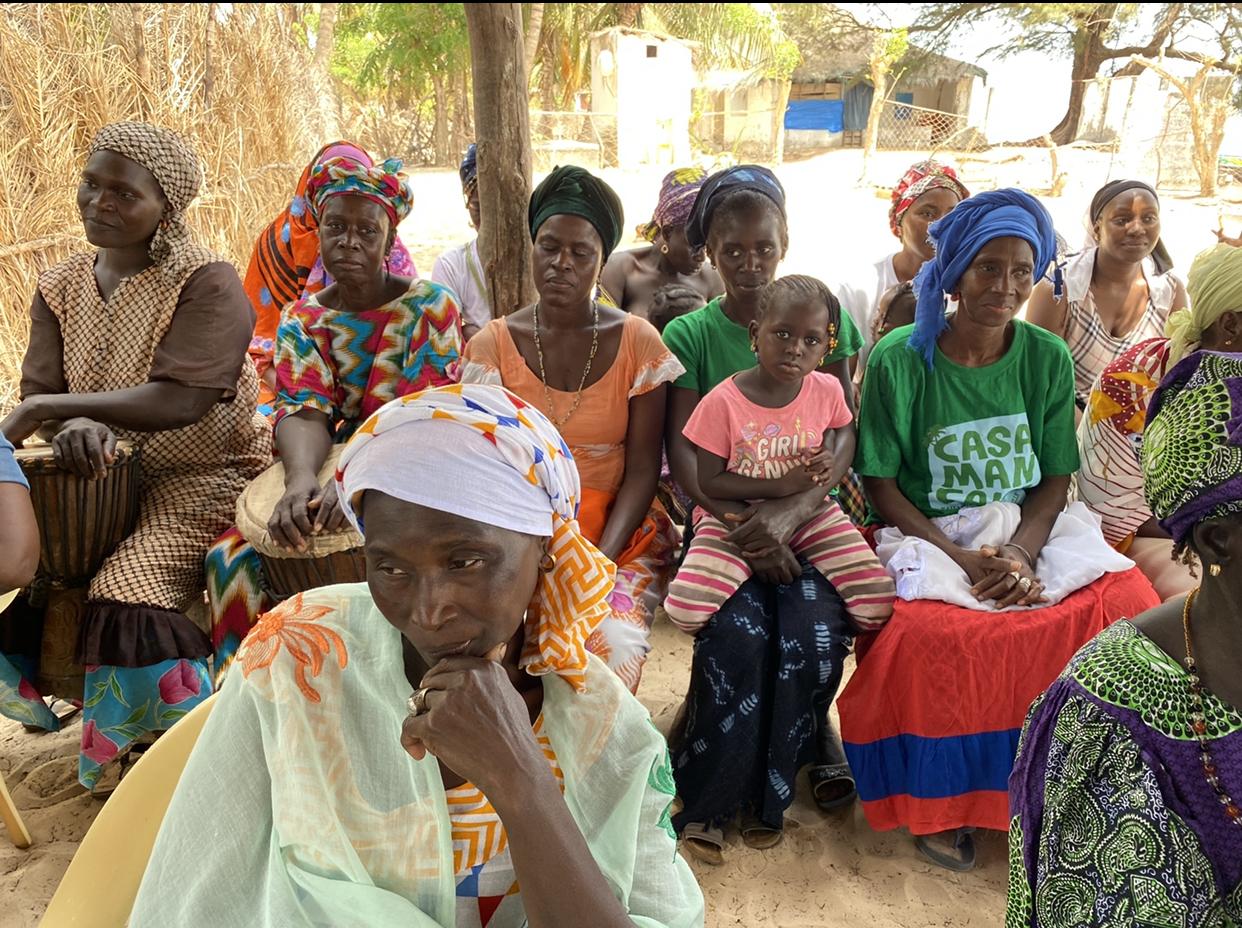 Oussouye / Îles de Cachouane : Le MMESS à la rencontre des femmes du Bolong.